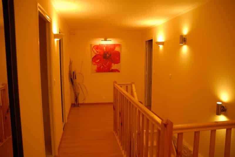 couloir étage gite la grange