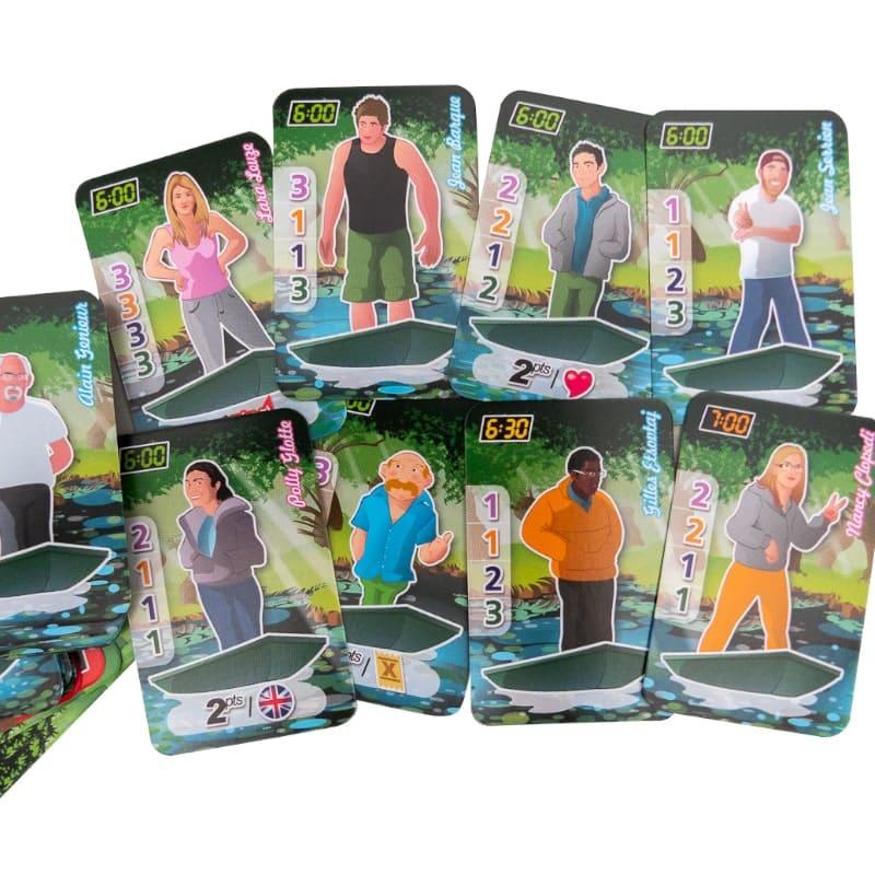 jeu cartes battelerie patrick braud marais poitevin batteliers