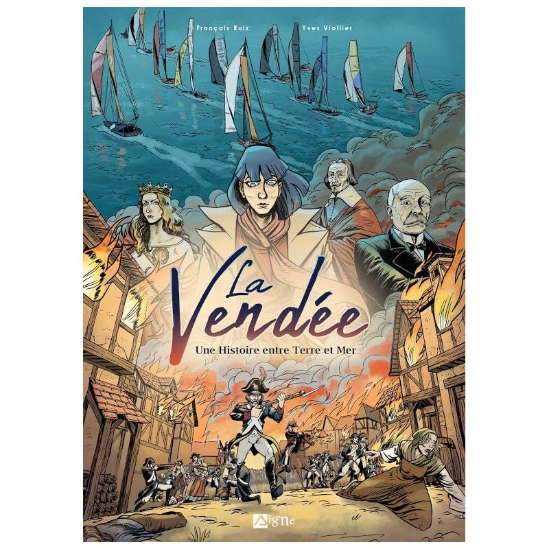 bande dessinées la vendée une histoire entre terre et mer-min